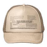 Bible Verse Cap Trucker Hat
