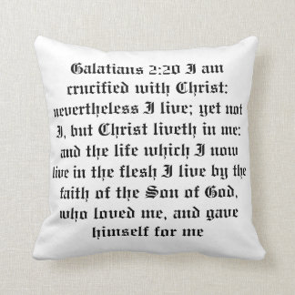 bible verse cool pillow