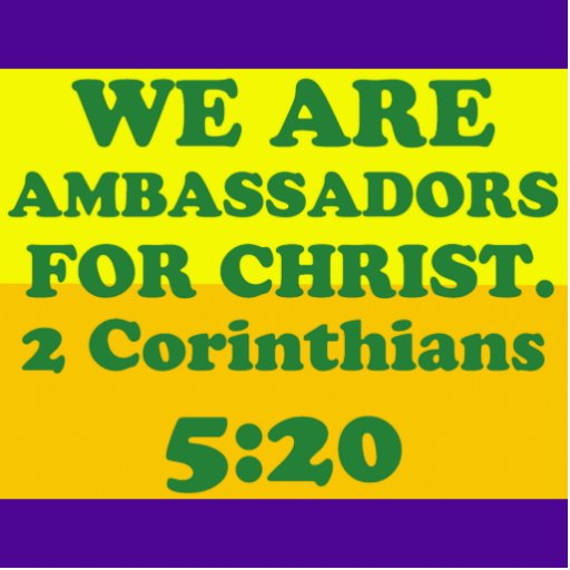 Bible Verse From 2 Corinthians 5 20 Statuette Zazzle