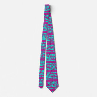 Bible verse from Hebrews 4:12. Double Side Printed Tie