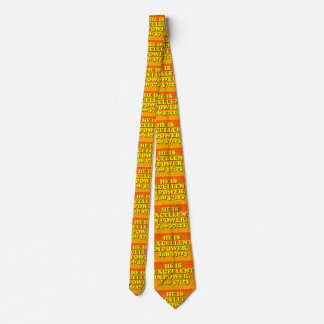 Bible verse from Job 37:23. Double Side Printed Neck Tie