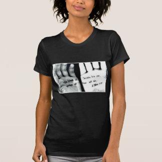 Bible verse hands tshirts