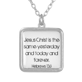 bible verse Hebrews 13:3 necklace