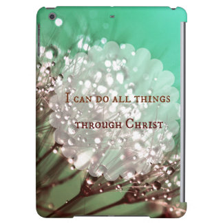 Bible Verse: I can do all things through Christ iPad Air Case