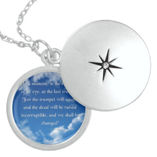 Bible Verse I Corinthians 15-52 Jewelry Necklace