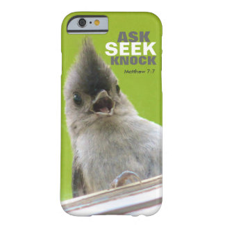 Bible Verse iPhone 6 case: Matthew 7: Barely There iPhone 6 Case