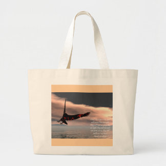 Bible Verse Isaiah 40 28-31 with Eagle Bags