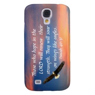Bible verse Isaiah 40:31 Samsung Galaxy S4 cover