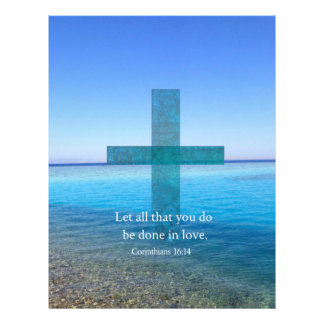 BIBLE VERSE - Let all that you do be done in love Letterhead