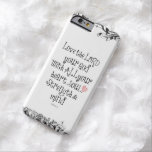 Bible Verse: Love the Lord, Heart, Soul, Strength Barely There iPhone 6 Case