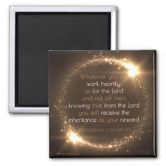 Bible Verse Magnet - Colossians
