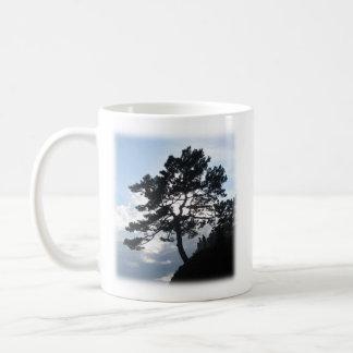 Bible verse mug with photo of mountain