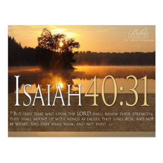 Bible Verse Postcard