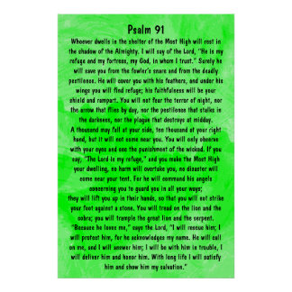 bible verse Psalm 91 Posters