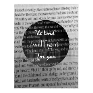 Bible Verse Scripture Encouragement Postcard