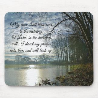 Bible Verse Scripture Prayer Mouse Pad