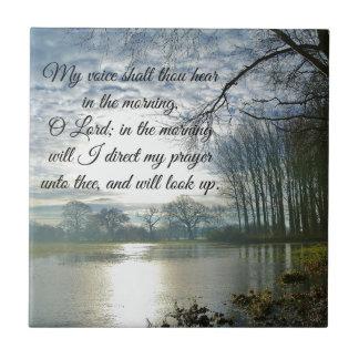 Bible Verse Scripture Prayer Tile