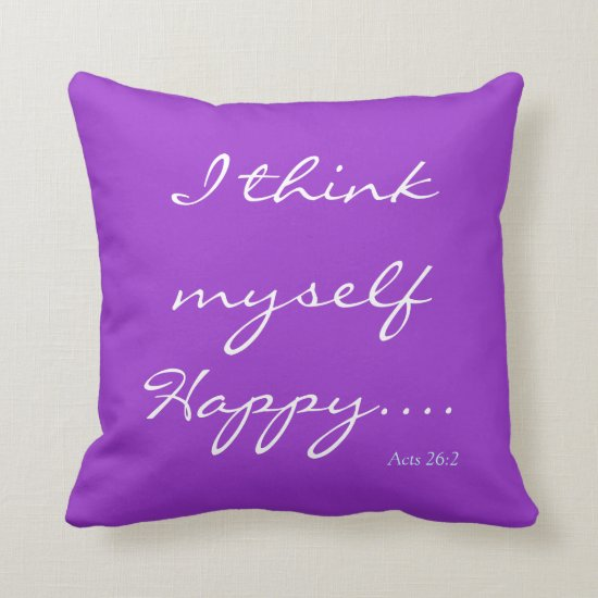Bible Verse/Scripture Quote Pillow
