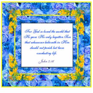 Bible Verse Sculpture