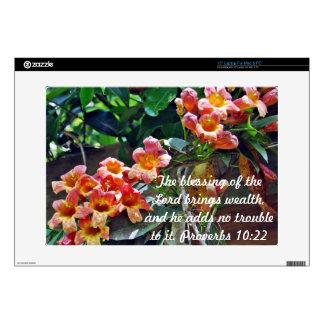 Bible Verse Skin Proverbs 10:22 Laptop Skins