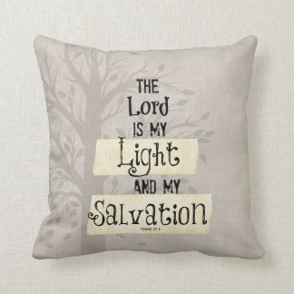 Bible Verse: The Lord is my Light and my Pillow
