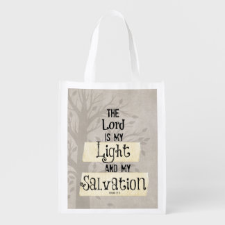 Bible Verse: The Lord is my Light and my Grocery Bag