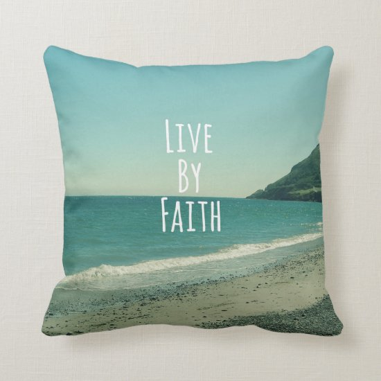 Bible Verse Throw Pillow
