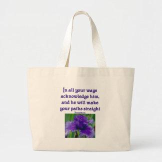 Bible Verse Tote Bag