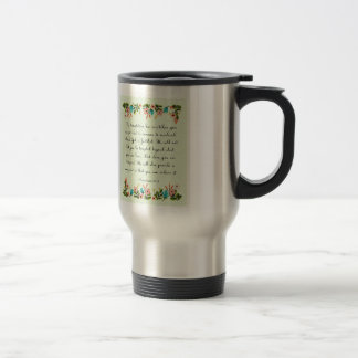 Bible Verses Art - 1 Corinthians 10:13 Travel Mug