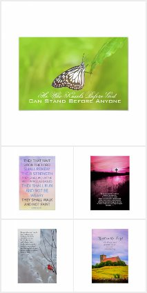 Bible verses Christian posters