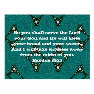 Healing Scriptures Cards, Healing Scriptures Card Templates, Postage ...