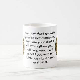 Bible Verses Inspirational Quote Isaiah 41:10 Coffee Mug