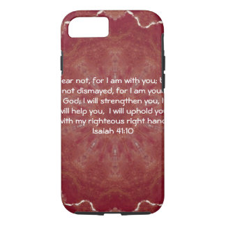 Bible Verses Inspirational Quote Isaiah 41:10 iPhone 7 Case