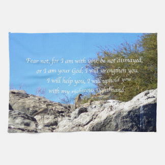 Bible Verses Inspirational Quote Isaiah 41:10 Towels