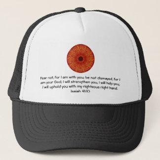 Bible Verses Inspirational Quote Isaiah 41:10 Trucker Hat
