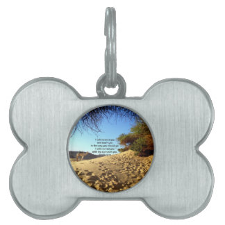 Bible Verses Inspirational Quote Psalm 32:8 Pet Tags