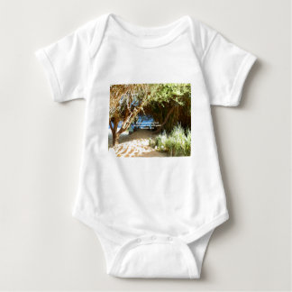 Bible Verses Love Quote Saying Romans 12:21 Baby Bodysuit