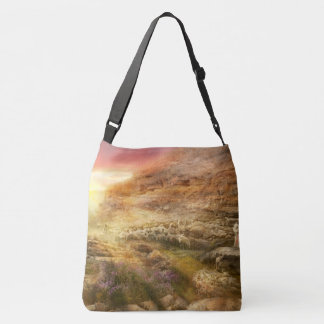 Bible - Yea, though I walk through the valley 1920 Tote Bag