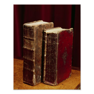 Bibles belonging to Lord Byron and Augusta Leigh Poster