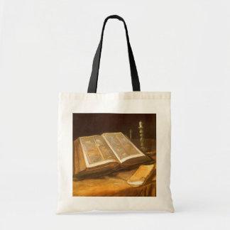 Biblia de Vincent van Gogh, impresionismo del Bolsa Tela Barata