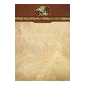 """Biblia - el señor es mi pastor - 1910 invitación 5"""" x 7"""""""