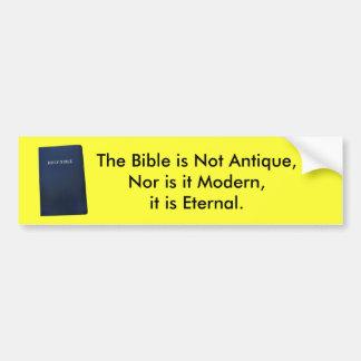 Biblia eterna pegatina para auto