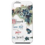 Biblia que dice con las flores iPhone 5 Case-Mate protector