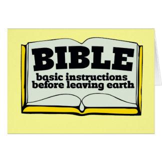 Biblia Tarjetas