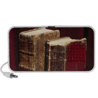 Biblias que pertenecen a señor Byron y Augusta Lei Altavoz