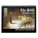 Biblical Bible Fine Art Monthly Artwork 2016 Calendar