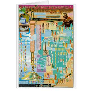 Biblical Genealogy Chart Card