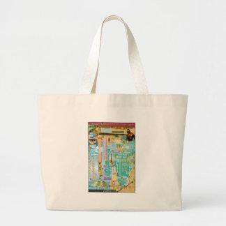 Biblical Genealogy Chart Large Tote Bag