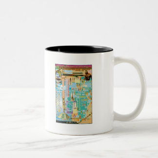Biblical Genealogy Chart Two-Tone Coffee Mug