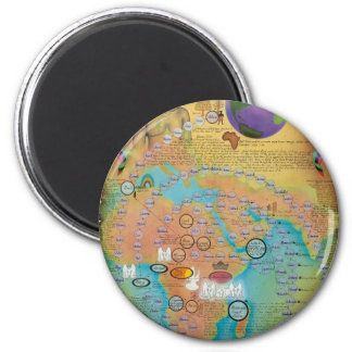 Biblical Genealogy Charts 2 Inch Round Magnet